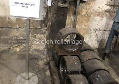 1. Eingangszustand | gebrauchte Gehäuse SZ warten auf Versand zu Eich Rollenlager