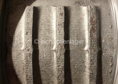 2. Gehäusekappe ohne Deckel | gebrauchte Gehäuse SZ während der Überarbeitung durch Eich Rollenlager
